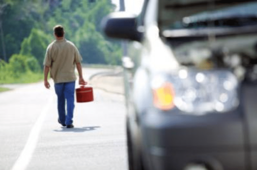 What To Do When You're Suddenly Out Of Gas