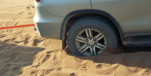 HOW NOT TO GET YOUR CAR STUCK IN DIRT OR SAND